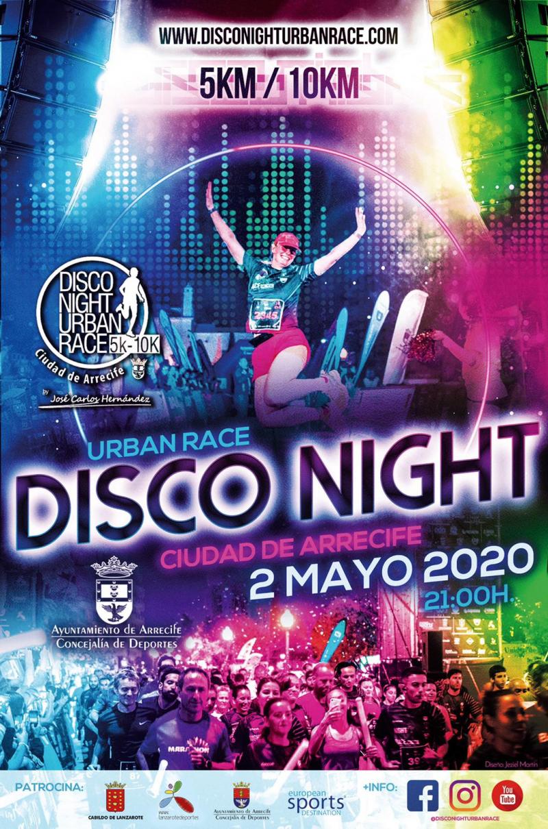 DISCO NIGHT URBAN RACE 2020 - Inscríbete