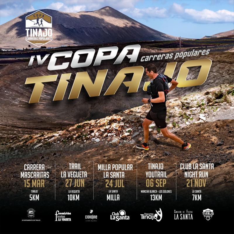 IV COPA CARRERAS POPULARES MUNICIPIO DE TINAJO - Inscríbete